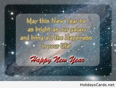 Wishing you happiness in the new year