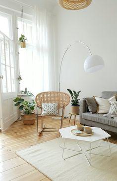Neue Wohnung - neuer Style.  Mit hellen, natürlichen Farben einrichten