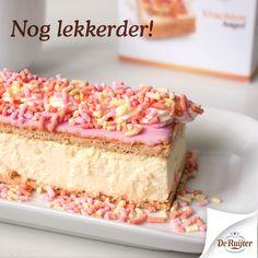 Het lekkerste gebakje van Nederland. #DeRuijter #tompouce #hagelslag #vruchtenhagel #recept #inspiratie #foodporn