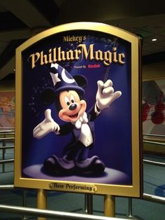 Mickey's Philharmagic at Magic Kingdom - my favorite show at The Magic Kingdom!