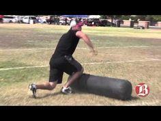 WATCH: Oakland Raiders QB Derek Carr Lays Mean Hit on Tackling Dummy During Kids Camp | FatManWriting