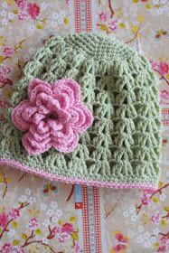.: Virkade vårmössor Stick O, Knit Dishcloth, Crochet Baby Hats, Snuggles, Elsa, Beanie, Knitting, Creative, Children