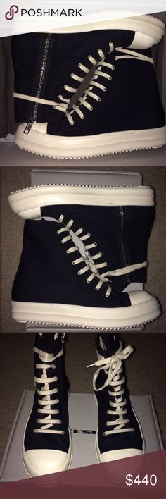 Rick Owen ramone New in box Rick Owens Shoes Sneakers