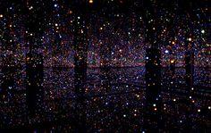 Yayoi Kusama installation  Beautiful