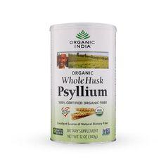 Organic India ofrece la fibra de Psyllium—una fibra alimenticia que promueve y mantiene saludable todo su sistema gastrointestinal y digestivo. http://productos.mercola.com/psyllium/