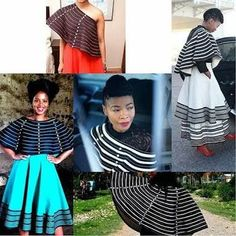 Image result for red and black umbhaco #modernafricanfashion