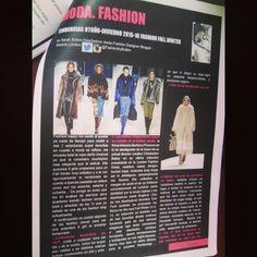 Ya podeis leer en la revista @Digame_otravez las tendencias Otoño Invierno 2015 16 en una de mis secciones moda, suscribiendoos en digameotravez com Gracias. Ok. Sarah Sutton #Madrid #revista #VUELVEDIGAME #moda #fashion