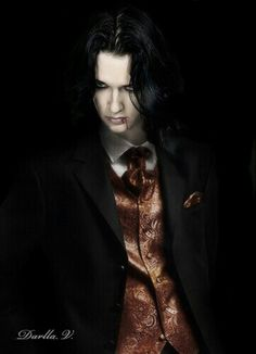 Vampire--not real big into vampires but he is cute lol