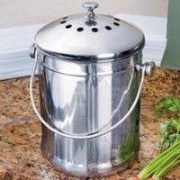 Standard Stainless Compost Crock