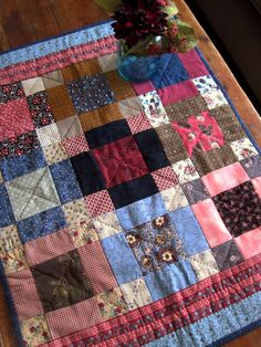 Civil War doll quilt form American Doll Quilts by Kathleen Tracy  www.countrylanequilts.com