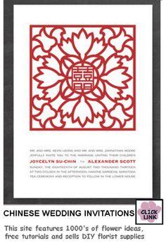 Chinese Wedding Invitations Invitation Card Design, Wedding Invitation Design, Wedding Stationary, Invitation Cards, Invites, Chinese Wedding Invitation, Cheap Wedding Invitations, Wedding Cards, Wedding Gifts