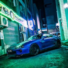 """TOYOTA on Instagram: """"A night on the town. . Photo by @supra1818. . If you want to be featured, add #Toyotagram in your post. . #Supra #SportsCar #Speed…"""" Some Nights, Performance Parts, Trd, Twin Turbo, Toyota Supra, Nissan, Japan, Steering Wheels, Instagram Posts"""
