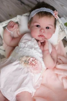 "2 Pcs 10/"" Handmade Reborn Newborn Mini Baby Dolls Silicone Vinyl Stand Boy Girl"