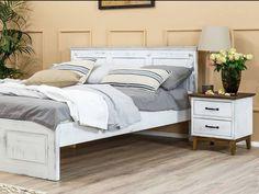 Rustikální postel KOLMAR je stylová postel z masivního borovicového dřeva, která se stane dominantou každé ložnice. Bed, Furniture, Home Decor, Decoration Home, Stream Bed, Room Decor, Home Furnishings, Beds, Home Interior Design
