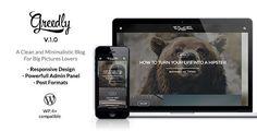 Greedly - Grid Based & Responsive WordPress Blog