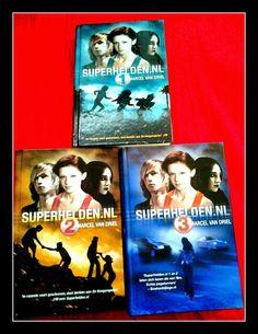 Superhelden.nl trilogie van Marcel van Driel