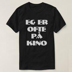 I often go to the cinema in Norwegian black T-Shirt #eggåroftepåkino #ioftengotothecinema #norwegian #language #word #TShirt Norwegian Words, Foreign Words, Go To The Cinema, Word Sentences, Tshirt Colors, Keep It Cleaner, Type Fonts, Shop Now, Fitness Models