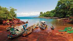Ricketts harbour on Banana Islands, Sierra Leone
