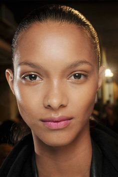 Love this gorgeous look? Try on a dusty rose lipstick.