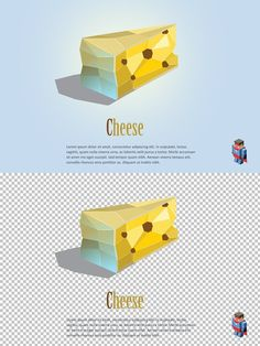 Vector cheese . Objects. $4.00