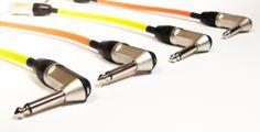 Interpedal Rean + Malla de color - Cables de la mas alta calidad. Fabricamos todo tipo de cables de audio profesional. contacto: info@resistor.com.ar