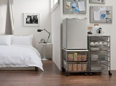 elfa Mini Kitchen for your Room. Available at Howards Storage World