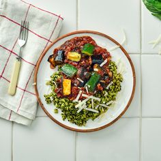 Ratatouille & Pesto Wheat Berries Recipe   Gousto