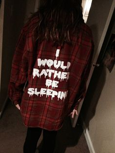 I would Rather Be Sleeping DROOLING OVERSIZED Sleepy by THASHOPPE, $38.00