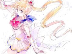 Super Sailor Moon (My favorite form!!) <3