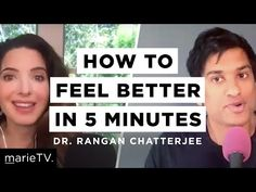 """How to Feel Better in Your Mind, Body, and Heart w/ Dr. Rangan Chatterjee -Want to feel better mentally, physically, and emotionally?  Dr. Rangan Chatterjee, resident BBC Breakfast doctor and author of """"Feel Better in 5,"""" shows us how ANYONE –– from CEOs to single moms –– can build better habits in just 5 minutes.  1.9. 2020  www.nco.is NCO eCommerce,  IoT www.netkaup.is Emotional Healing, Good Habits, Feel Better, Mindfulness, Author, Wellness, Feelings, Health, Youtube"""