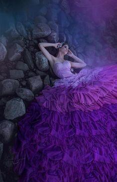 Farbe Violett. Color violet.