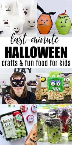 Last-Minute Halloween Crafts and Fun Food Kids Will Love | Tonya Staab Healthy Halloween, Halloween Treats, Halloween Diy, Food Kids, Fun Food, Egg Carton Crafts, Diy Ideas, Party Ideas, Holidays With Kids