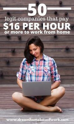 50 Companies That Pay $16/Hr (or More) to Work from Home #onlinebusiness #entrepreneur #startup