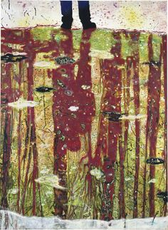 Peter Doig (b. 1959) - Reflection (What does your soul look like), 1996   Huile sur toile (295 × 200 cm)    Christie's New York, $10,162,500