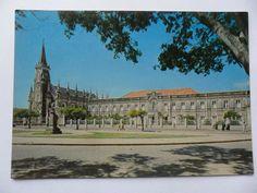 cartão postal antigo fortaleza ceará igreja e colégio