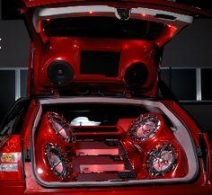 Custom MTX Audio install in Dodge Magnum