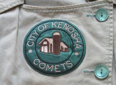 """Rare 1992 """"A League Of Their Own"""" Kenosha Comets Screen-Worn Complete Uniform Rockford Peaches, Baseball Uniforms, American League, Auction Items, Professional Women, History Facts, Sports Women, Softball, Cool Pictures"""