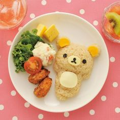 Rilakkuma rice! Perfect!!! ^^