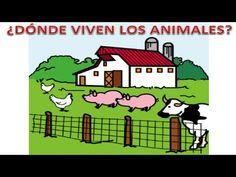 NUEVO VIDEO, ¿DÓNDE VIVEN LOS ANIMALES? | Maestros de Audición y Lenguaje