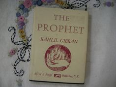 Kahlil Gibran. I've given this book to probably a dozen people when they got married