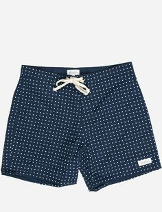 polka dot boardshort ▲ saturdays