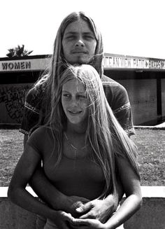 A young skater couple, California, 1970s. Photo by David Scott