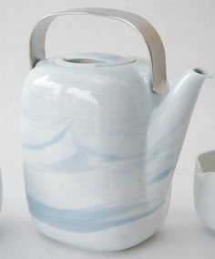 Tea Service in Queensberry Marble Pattern by Rosenthal Studio-Line | 1stdibs.com