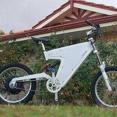 Phasor frame ebike with #Cromotor  Many diy people choose Cromotor , so did…