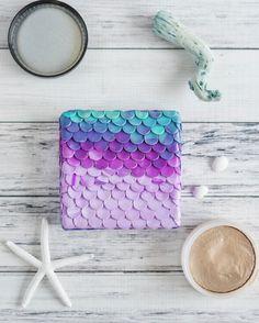DIY Polymer Clay Mermaid Box