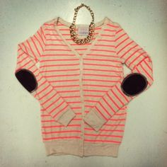Elbow Patch Sweater <3  #swoonboutique