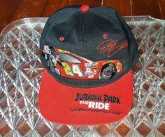 3b72ec3529fab Jeff Gordon  24 Signature Hat Snapback Jurassic Park The Ride Snapback  Racing  Chase