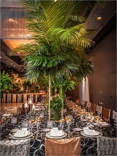 A timelessly elegant wedding venue located in Chicago. #gatsby