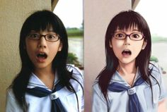 Do You Prefer Anime or Real Life in These 19 Portraits ⋆ MangaPanda