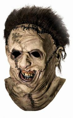Buy Leatherface Mask Texas Chainsaw Massacre from Costume-Shop.com M-RU4156 Scary Halloween Masks